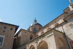 Cattedrale a Urbino Immagini Stock Libere da Diritti