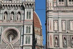 Cattedrale van Santa Maria del Fiore Florence Stock Afbeelding