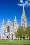 Cattedrale Wiltshire Inghilterra Regno Unito di Salisbury immagini stock libere da diritti