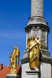 Cattedrale a Zagabria, Croatia fotografie stock libere da diritti