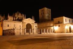 Cattedrale a Zamora Immagini Stock Libere da Diritti