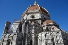 Cattedraledi Santa Maria del fiore in Florence, Italië royalty-vrije stock afbeeldingen