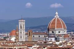 Cattedraledi Santa Maria del Fiore, Florence, Toscanië, Italië stock afbeelding