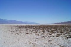 Cattiva acqua, Death Valley immagine stock