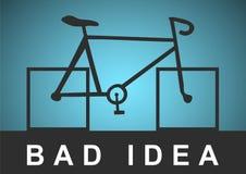 Cattiva idea Immagine Stock