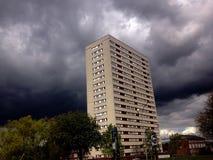 Cattive nuvole fotografia stock