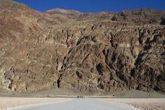 Cattivo bacino dell'acqua nella morte Vally Fotografie Stock