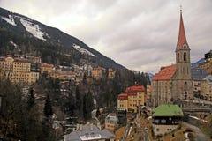Cattivo Gastein in montagne delle alpi Immagini Stock Libere da Diritti