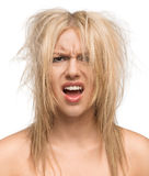 Cattivo giorno dei capelli immagini stock