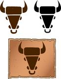 Cattle Brand Royalty Free Stock Photo