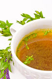 Cattle broth Stock Image
