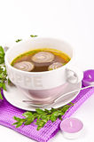 Cattle broth Stock Images