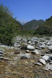 Cattle Canyon Stream. Stream in Cattle Canyon, San Gabriel Mountains, California Stock Photos