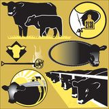 Cattle Clip Art Royalty Free Stock Photo