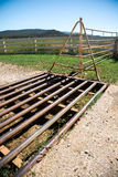 Cattle Grid Royalty Free Stock Photography