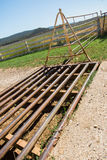 Cattle Grid Stock Photography