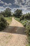 Cattle Grid New Forest Hampshire UK. NnThe New Forest is an area of southern England which includes one of the largest remaining tracts of unenclosed pasture stock images