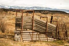 Cattle Loading Chute Royalty Free Stock Image