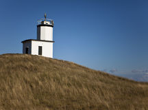 Cattle Point Lighthouse Royalty Free Stock Photos