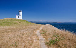 Cattle Point Lighthouse Royalty Free Stock Photography