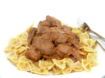 Cattle ragout Royalty Free Stock Photos