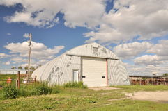 Cattle shed Stock Photography