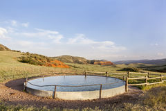 Cattle water tank Royalty Free Stock Photography