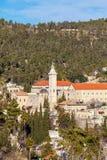 ¡ Cattolico onvent, Ein Kerem, Gerusalemme di Ð Fotografie Stock