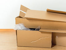 Catton box Stock Images