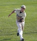 Cattura del giocatore della tazza del Canada di baseball Fotografia Stock
