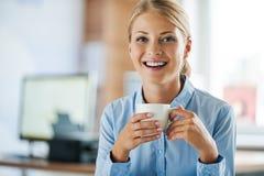 Cattura dell'intervallo per il caffè immagini stock libere da diritti