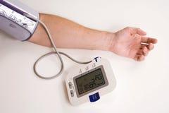 Cattura della pressione sanguigna Immagine Stock