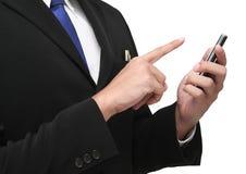 Catturi il mobile Fotografia Stock Libera da Diritti