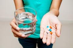 Catturi la medicina Fotografia Stock Libera da Diritti