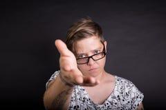 Catturi la mia mano Immagini Stock Libere da Diritti