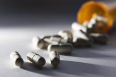 Catturi la vostra medicina Fotografie Stock Libere da Diritti
