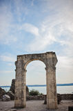 Catullus Caves in Sirmione Royalty Free Stock Photography