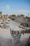 Catullus Caves in Sirmione. On Garda Lake, Italy Stock Image