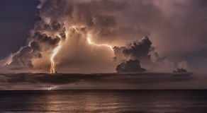 Catumbo Lightning Stock Photography