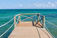 Catwalk. Nice Catwalk near to Cancun in Yucatan, Mexico Stock Photography