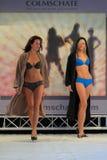 Catwalk fashion lingerie models Royalty Free Stock Images