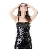 Catwalk fashion model Stock Image