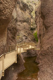 Catwalk Trail, Gila National Forest, New Mexico Stock Images