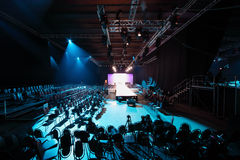 Catwalk at Volvo Fashion Week Stock Images