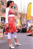 catwalkmodell Royaltyfri Foto