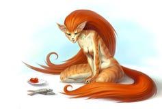 catwoman Zdjęcie Stock