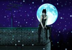 Catwoman Стоковое Изображение