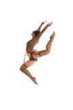 Catwoman jumping Royalty Free Stock Photos