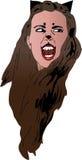 Catwoman vampir Royalty Free Stock Photo