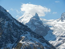 Caucas. Dombay. One of the peaks. Royalty Free Stock Photography
